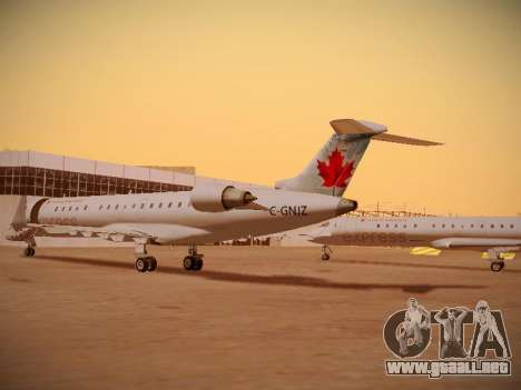 Bombardier CRJ-700 Air Canada Express para visión interna GTA San Andreas