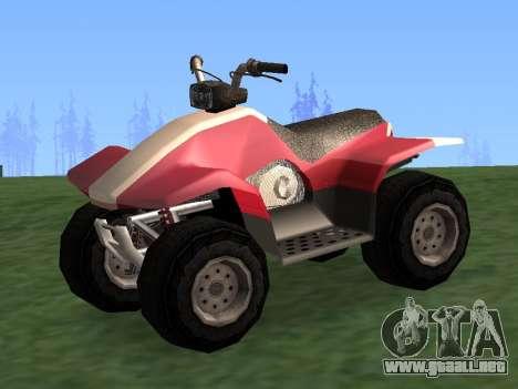 Actualizado Quad para GTA San Andreas