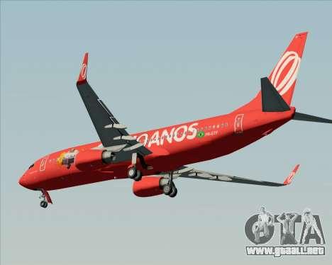 Boeing 737-800 de Gol Transportes Aéreos para el motor de GTA San Andreas