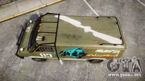 Kessler Stowaway Dalikfodda para GTA 4 visión correcta