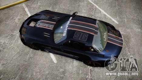 Mercedes-Benz SLS AMG GT-3 high para GTA 4 visión correcta