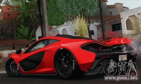 McLaren P1 HQ para GTA San Andreas left