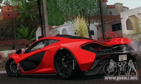 McLaren P1 HQ para GTA San Andreas left