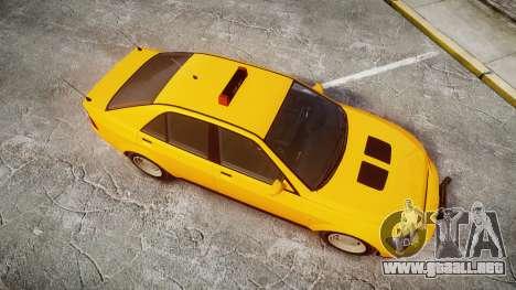 Karin Sultan Taxi para GTA 4 visión correcta