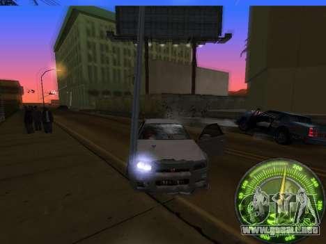 Velocímetro HITMAN para GTA San Andreas séptima pantalla