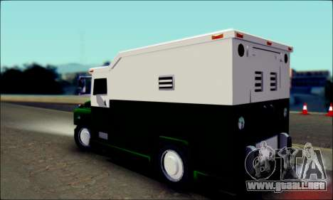 Shubert Armored Van from Mafia 2 para GTA San Andreas left