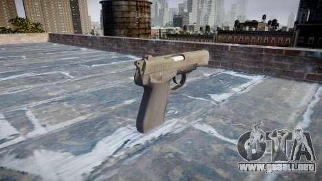 Pistola de QSZ-92 para GTA 4 segundos de pantalla