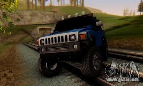 Hummer H6 Sut Pickup para GTA San Andreas left