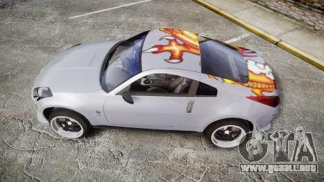Nissan 350Z EmreAKIN Edition para GTA 4 left