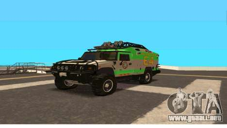Hummer H2 Ratchet Transformers 4 para GTA San Andreas