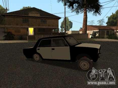 ESTOS 2107 Hobo para GTA San Andreas left