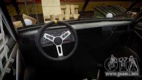 Kessler Stowaway Rusty para GTA 4 vista hacia atrás