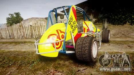 Larock-Sprinter Dalikfodda para GTA 4 Vista posterior izquierda