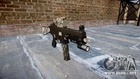 Pistola de UMP45 de Fibra de Carbono para GTA 4