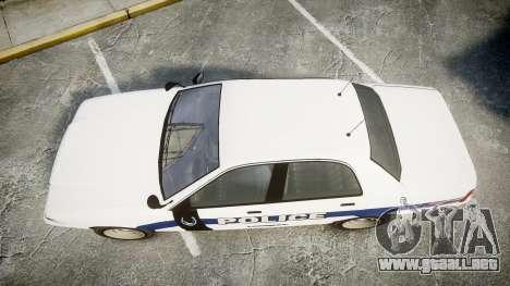 GTA V Vapid Cruiser LP [ELS] Slicktop para GTA 4 visión correcta