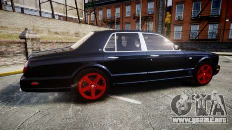 Bentley Arnage T 2005 Rims4 para GTA 4 left