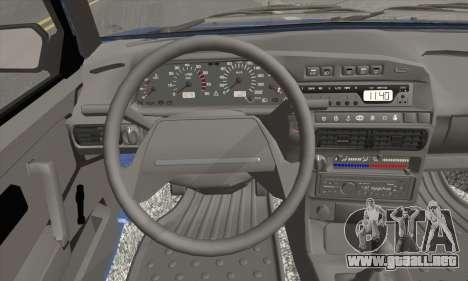 VAZ 2113 para GTA San Andreas vista posterior izquierda