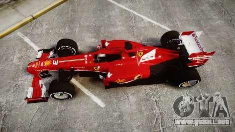 Ferrari F138 v2.0 [RIV] Alonso TMD para GTA 4 visión correcta