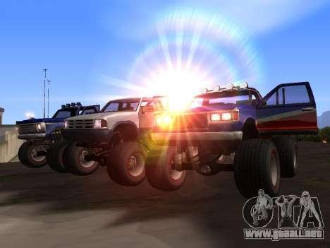 Nuevas texturas Monstruo para GTA San Andreas para GTA San Andreas
