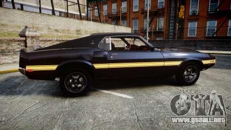 Shelby GT500 428CJ CobraJet 1969 para GTA 4 left