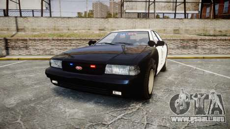 GTA V Vapid Cruiser LSP [ELS] Slicktop para GTA 4