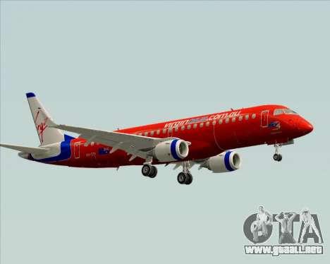 Embraer E-190 Virgin Blue para GTA San Andreas