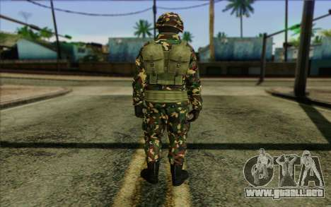 The Expendables 2 Enemy para GTA San Andreas segunda pantalla