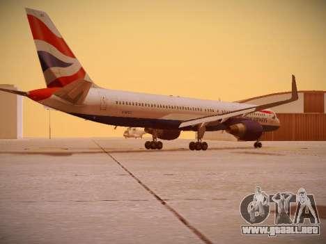 Boeing 757-236 British Airways para la visión correcta GTA San Andreas