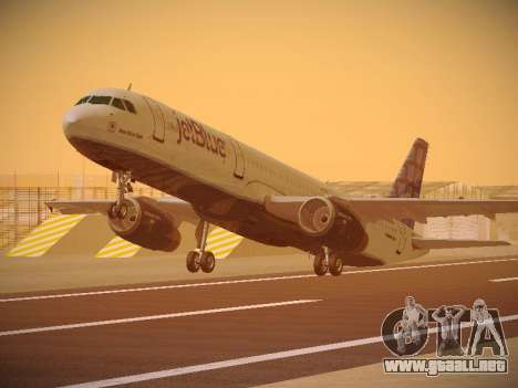 Airbus A321-232 jetBlue Blue Kid in the Town para GTA San Andreas