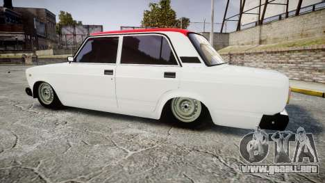 VAZ-2107 Italia para GTA 4 left