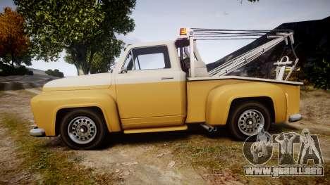 Vapid Tow Truck Jackrabbit v2 para GTA 4 left