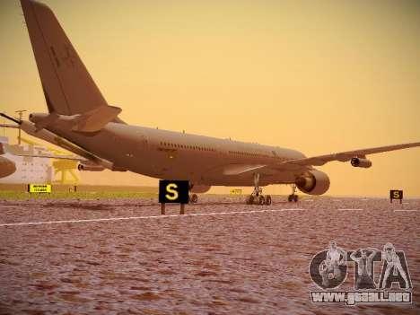 Airbus KC-45A (A330-203) Australian Air Force para GTA San Andreas vista hacia atrás