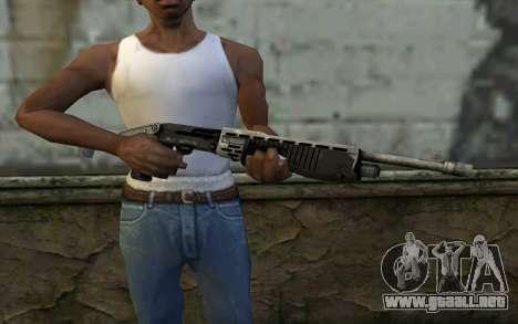 SPAS-12 from Battlefield 3 para GTA San Andreas tercera pantalla