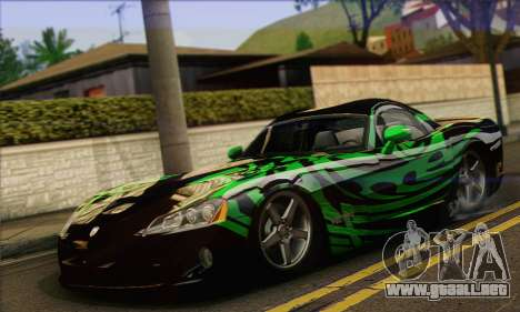 Dodge Viper SRT 10 para GTA San Andreas