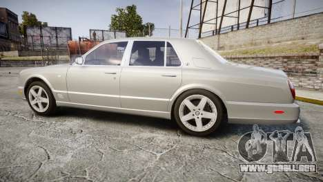 Bentley Arnage T 2005 Rims3 para GTA 4 left