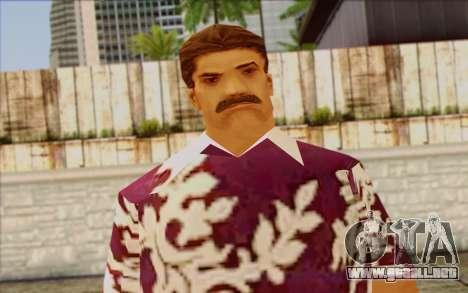 Diaz Gang from GTA Vice City Skin 1 para GTA San Andreas tercera pantalla