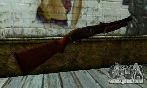 Shotgun from Gotham City Impostors v1 para GTA San Andreas segunda pantalla