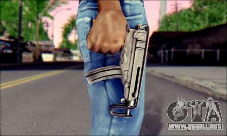 Škorpion vz. 61 para GTA San Andreas tercera pantalla