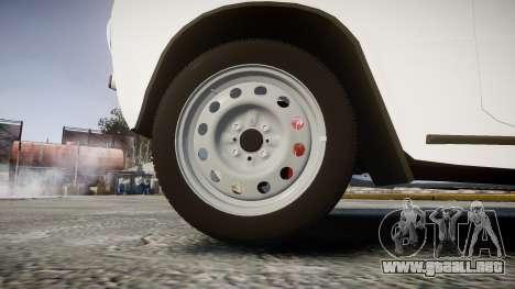 El USO de-2101 penny para GTA 4 vista hacia atrás