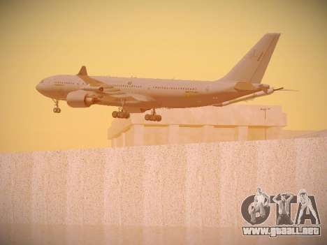 Airbus KC-45A (A330-203) Australian Air Force para las ruedas de GTA San Andreas