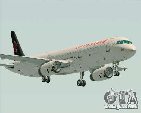Airbus A321-200 Air Canada para GTA San Andreas