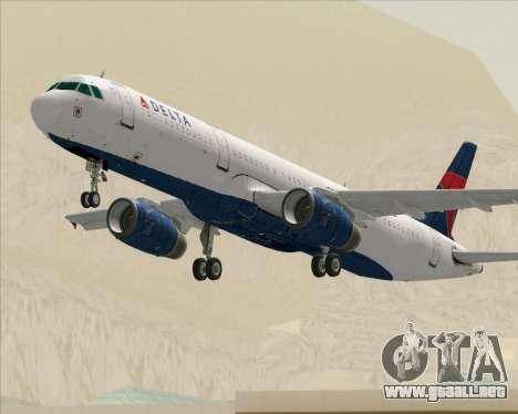Airbus A321-200 Delta Air Lines para GTA San Andreas