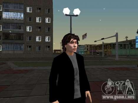 Viktor Tsoi para GTA San Andreas sucesivamente de pantalla