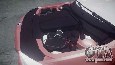 BMW 530d F11 para GTA 4 vista lateral