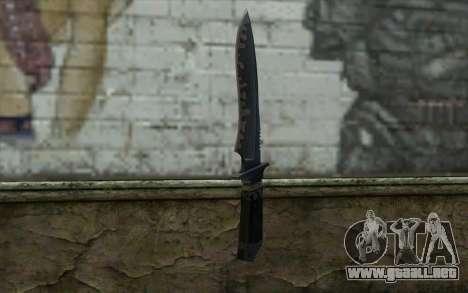 Knife from CS:S Bump Mapping v2 para GTA San Andreas