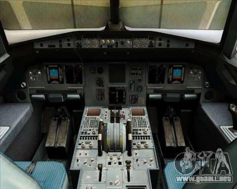 Airbus A320-212 Condor para GTA San Andreas interior