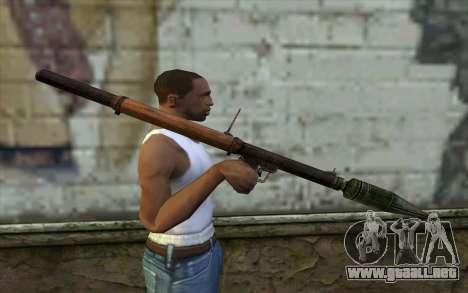 РПГ-2 (Battlefield: Vietnam) para GTA San Andreas tercera pantalla