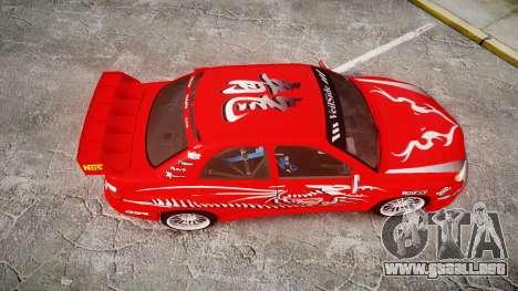 Subaru Impreza WRX STI Street Racer para GTA 4 visión correcta