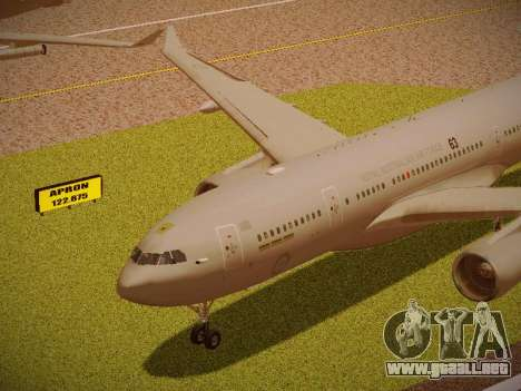 Airbus KC-45A (A330-203) Australian Air Force para visión interna GTA San Andreas