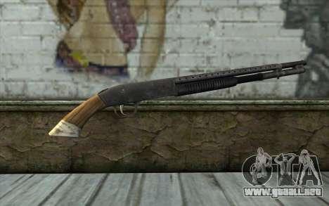 Mossberg 500 from Battlefield: Vietnam para GTA San Andreas segunda pantalla